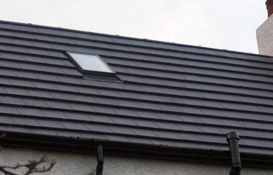 roof window closeup