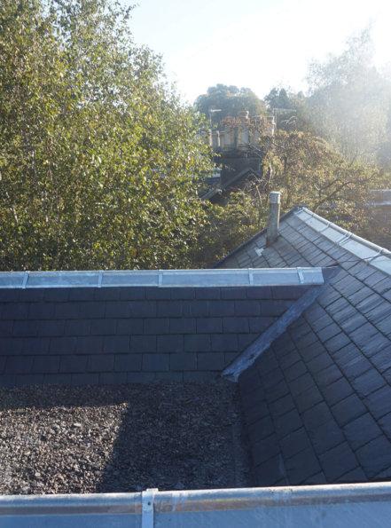 After new slate roof bearsden