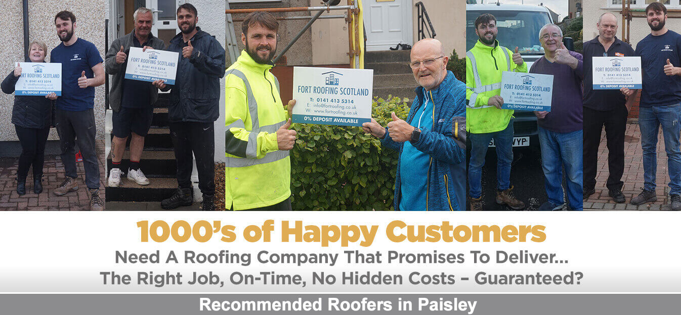 Recommended Roofers Paisley