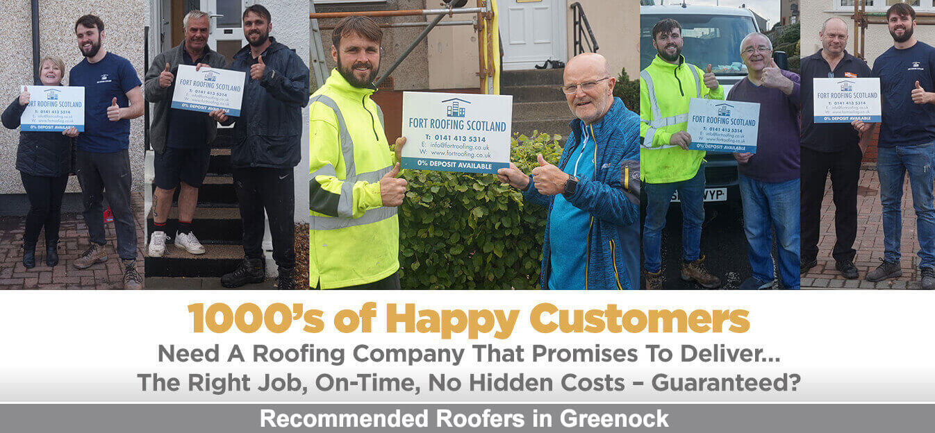 Recommended Roofers Greenock
